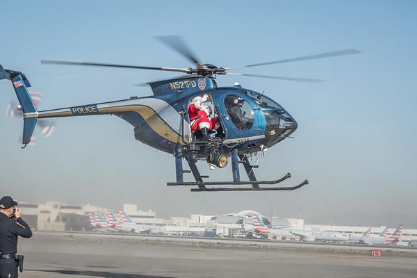 LAWA- Santa Fly In