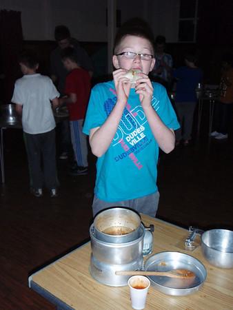 Indoor Cooking Scouts April 2011