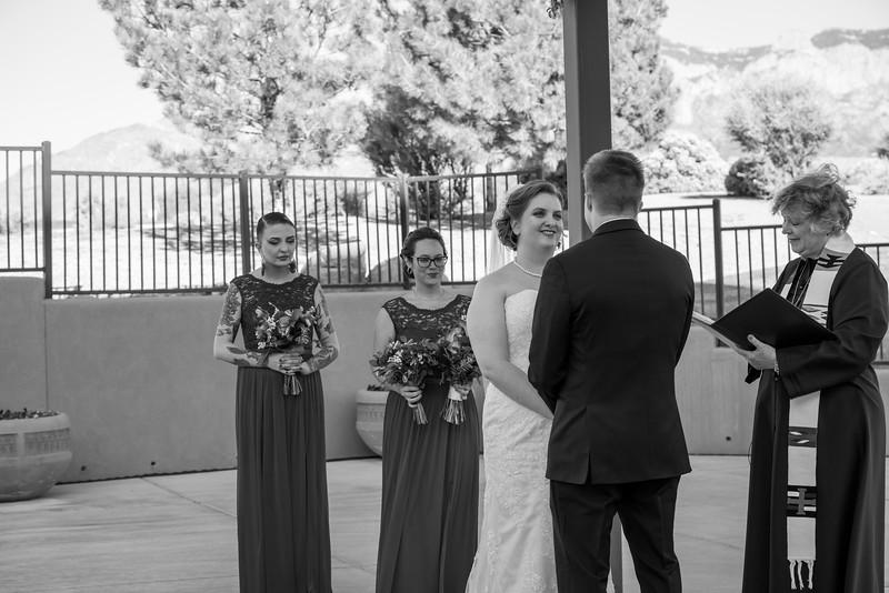Sandia Hotel Casino New Mexico October Wedding Ceremony C&C-92.jpg
