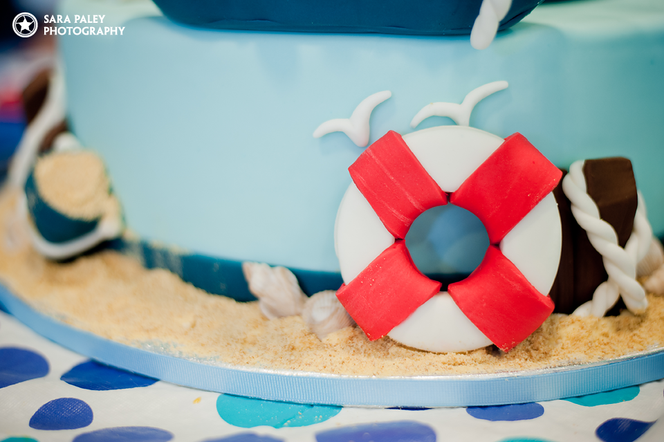 SweeTease Cupcakes - Nautical Birthday Cake, Vancouver BC