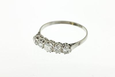 Argentine Deco Platinum and Deco Ring