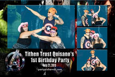 Tithen's 1st Birthday (Multi-Photo Collage)