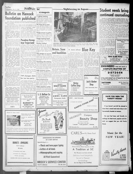 Daily Trojan, Vol. 37, No. 40, January 02, 1946