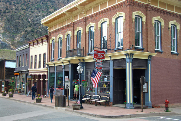 Georgetown, Colorado and the Summit