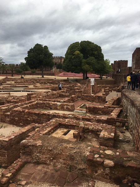 Historic Fortress in Silves