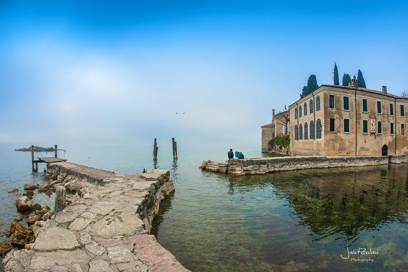 Punta San Vigilio, Garda lake , Italy