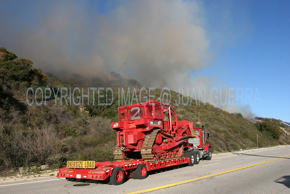 LA TUNA IC - Brush Fire - Febr. 1st 2009