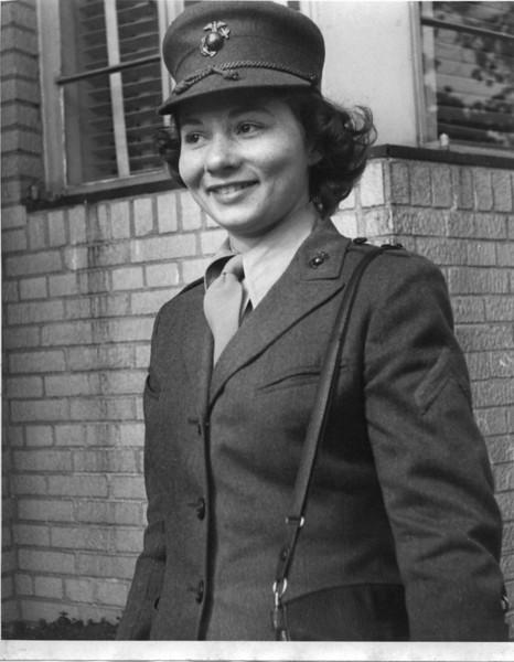 Pvt. Lucille Weiss, USMC