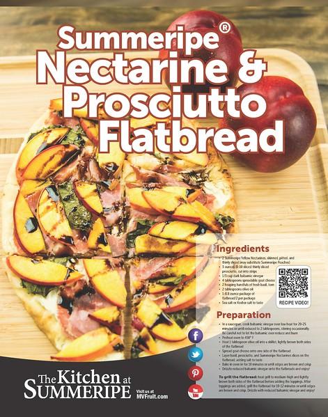 Recipe Poster Nectarine and Prosciutto Flatbread 2018.jpg