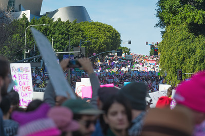 Women's March Los Angeles 2017