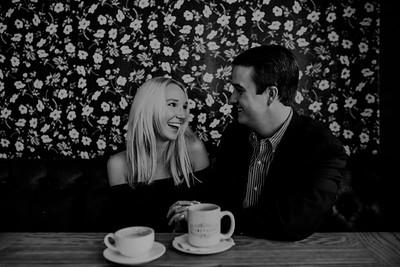 Honeymoon Café Downtown Houston Engagement Session