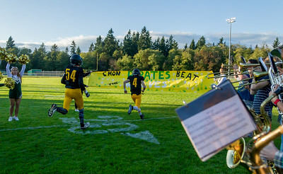 Set two: Cheer and Pirate Pals 2017 at Football v Coupeville 09/29/2017