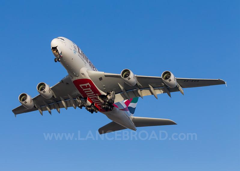 Emirates A380-800 - A6-EDO - LAX