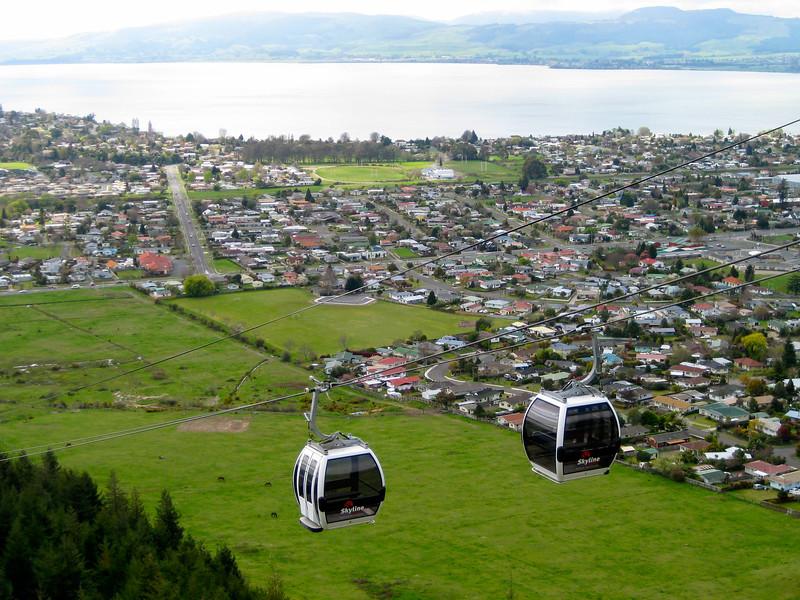 Skyline Gondola in Rotorua