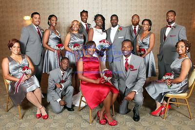 Jamal And Ayeshia Garrett Wedding 10-5-13