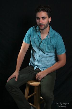 Eric B model shoot
