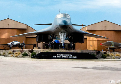 South Dakota Air and Space Museum , Ellsworth Air Force Base, near Rapid City SD