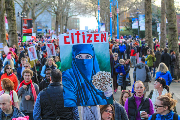 Women's March on Seattle