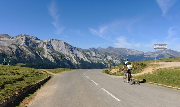Beautiful Luchon to Bayonne Route