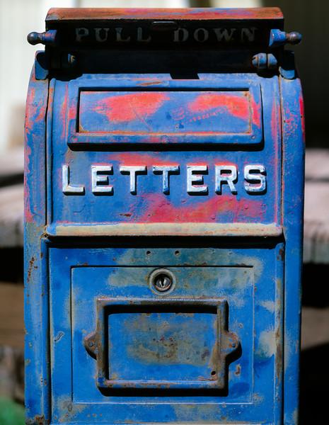 Mailbox, Mogollon, New Mexico, 1996