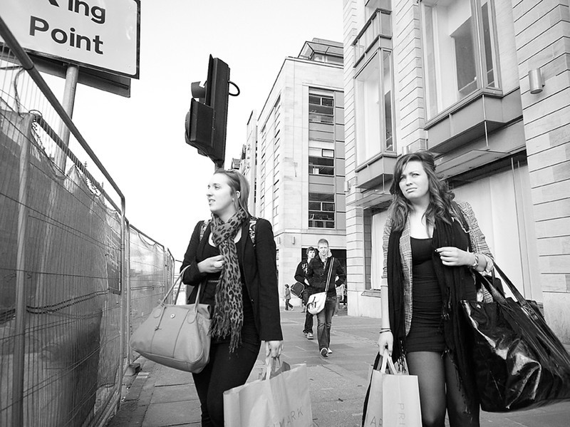 Girls Shopping - Edinburgh - Shooting from the Hip