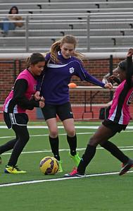 DMS Soccer girls game 2/25/2016