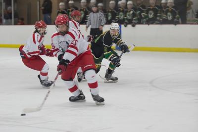 2014-2015 Wasilla vs Service Hockey