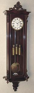 VR-388 - Late Biedermeier Granne-Sonnerie striking clock by Jos. Lorenz in Wien