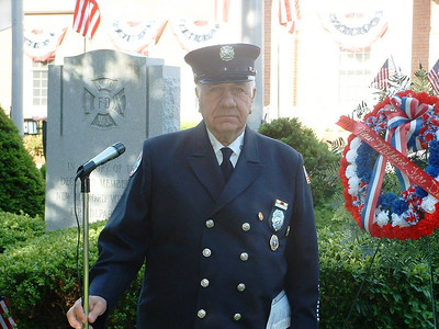 New Milford, NJ Firefighter Robert Granger