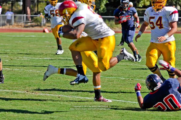 Santa Rosa College: The Game -- 09/15/12 FINAL SCORE = 32-37W