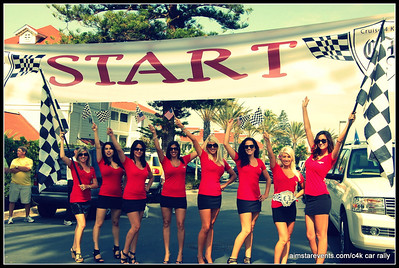 C4K Charity Car Rally ~ featuring the ATeam Rally Girls