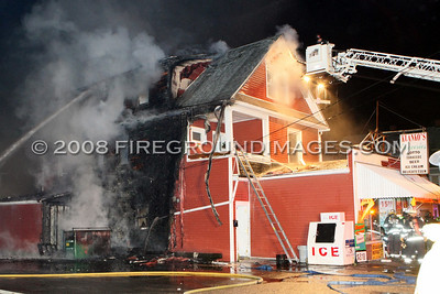Wakelee Avenue Fire (Ansonia, CT) 4/18/08
