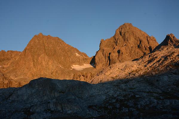 Banner Peak Aug 30 - Sept 1, 2014