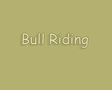 Jenner Rodeo 2018 Bull Riding
