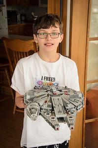 2016 Feb - Lego Millenium Falcon