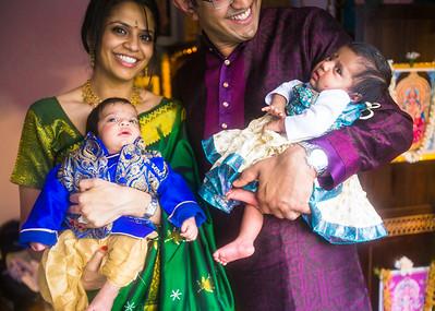 Prasad Twin's Naming Ceremony | 11.02.2014