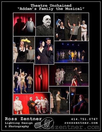 """Theatre Unchained """"Addam's Family the Musical"""""""