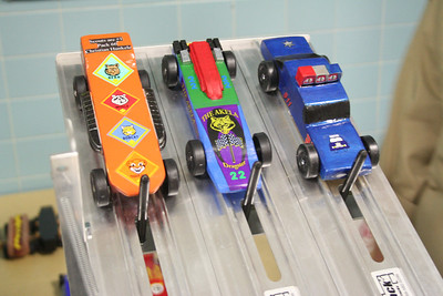 Pinewood Derby 2007