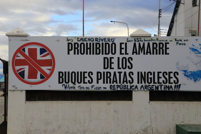 Sign by the Port.