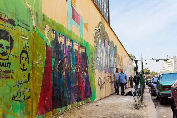 War on Walls: Egypt's Arab Spring Street Art