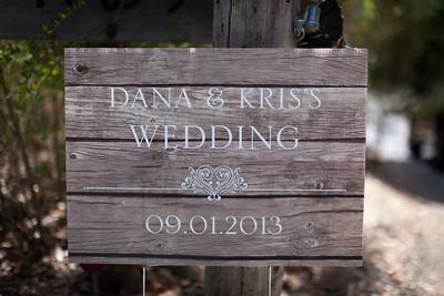 Dana and Kris Wedding photos