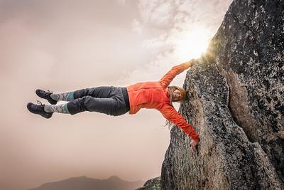 Arcteryx Climber, Emilie Pellerin
