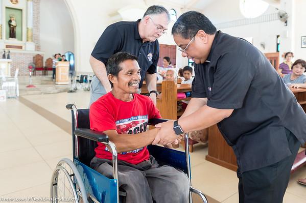 Saint Anthony of Padua Parish Wheelchair Distribution
