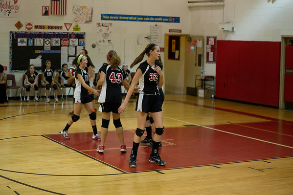 CHMS 8th Grade Volleyball