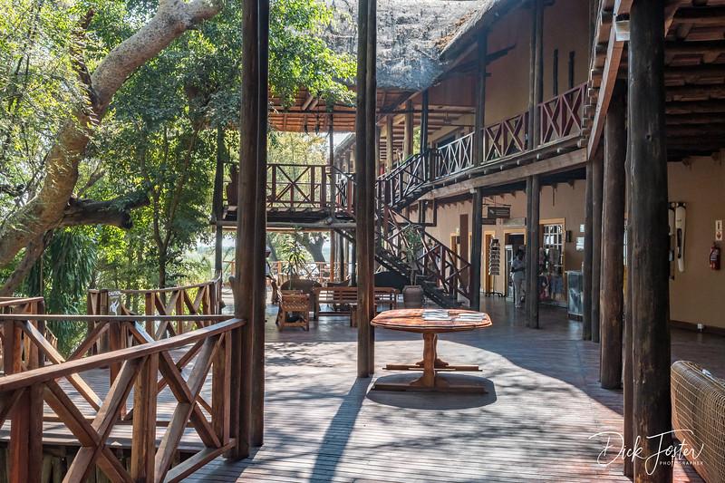 Chobe Marine Lodge Reception