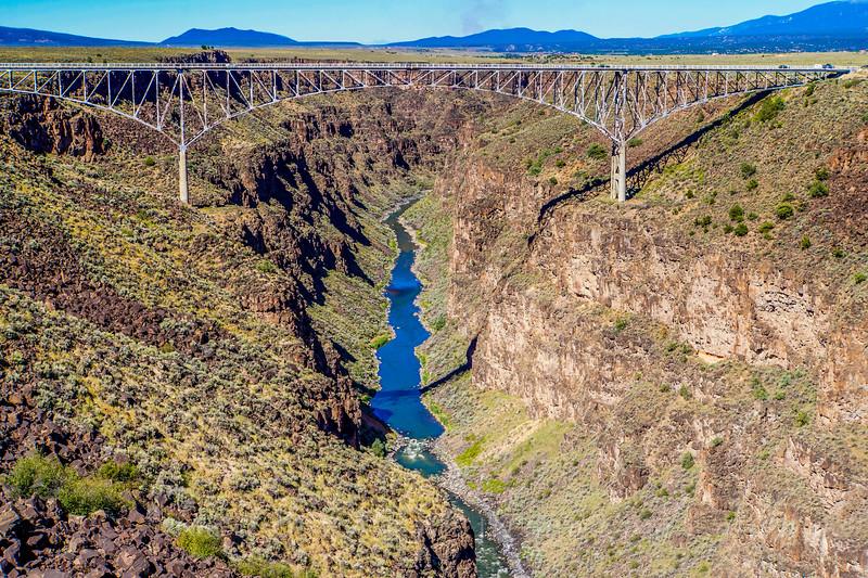 High Bridge spanning the Rio Grande