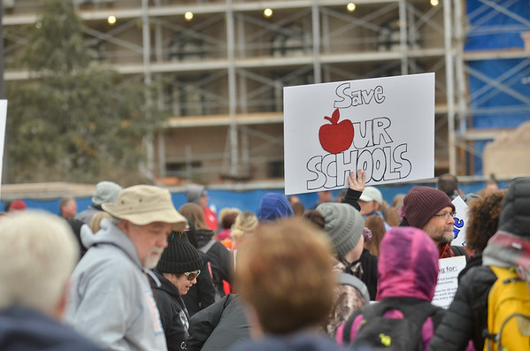 Oklahoma Teacher's Rally
