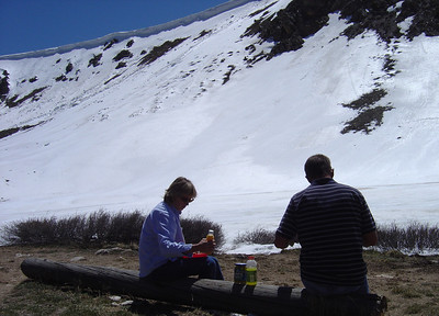 ARAPAHO NATIONAL FOREST COLORADO-LUNCH AT 11,990 FEET
