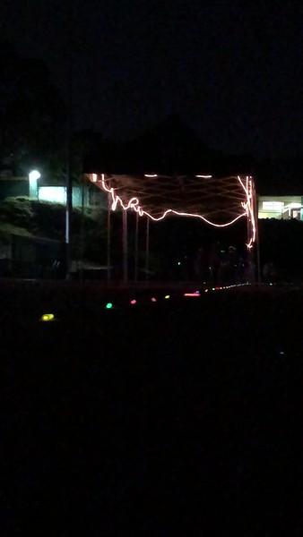 2018 Track Glow Stick Workout