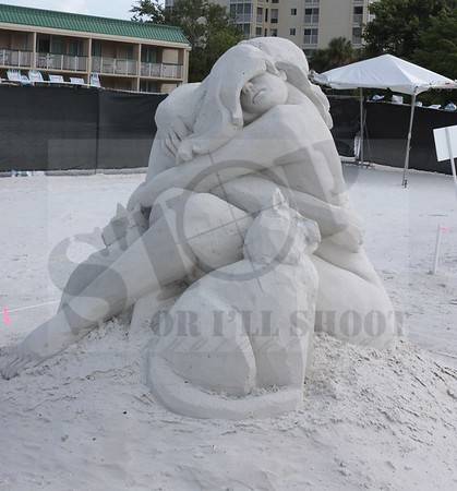 27th Annual Sand Sculpting Contest 2013
